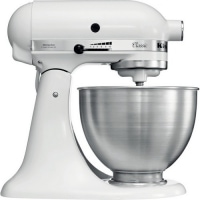 Миксер KitchenAid 5K45SS E WH - catalog
