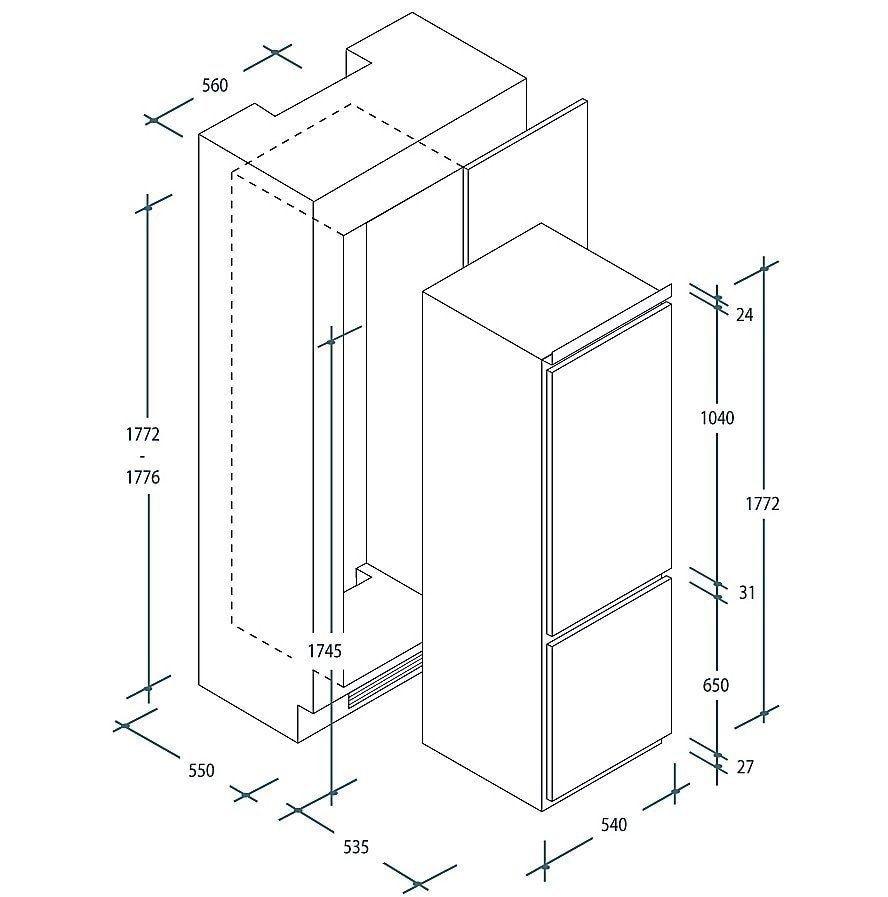 инструкция встраиваемый холодильник вирпул art489 5